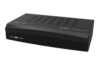 ADB i-CAN T260 Terrestre Nero set-top box TV