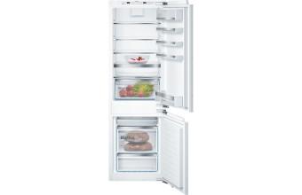 Bosch Serie 6 KIN86AF30F Incasso 273L A++ Bianco frigorifero con congelatore