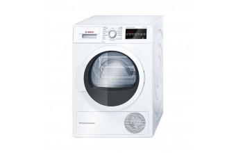 Bosch Serie 6 WTW85468II Libera installazione Carica frontale 8kg A++ Bianco asciugatrice