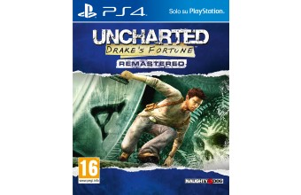 Sony Uncharted: Drake's Fortune Remastered Basic PlayStation 4 ITA videogioco
