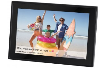 "Trevi DPL 2230 10.1"" Touch screen Wi-Fi Nero cornice per foto digitali"