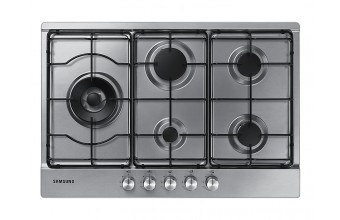 Samsung NA75M3130AS Built-in Gas Black, Stainless steel