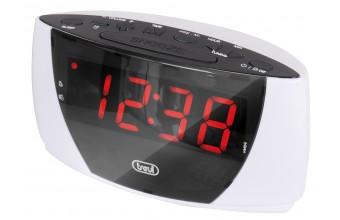 Trevi RC 845 B radio Orologio Digitale Bianco