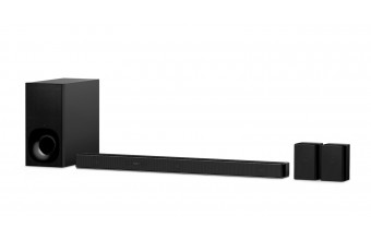 Sony HT-ZF9, Soundbar Dolby Atmos/DTS:X a 3.1 canali con tecnologia Wi-Fi/Bluetooth, Vertical Surround, Hi-Res Audio e subwoofer