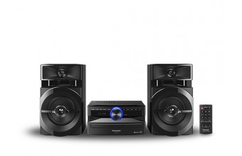 Panasonic SCUX100EK Home audio mini system 300W Nero set audio da casa
