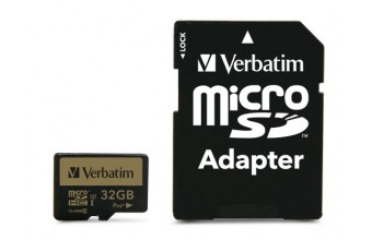Verbatim Pro+ memoria flash 32 GB MicroSDHC Classe 10 UHS-I
