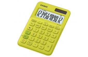 Casio MS-20UC-YG Scrivania Calcolatrice di base Giallo calcolatrice