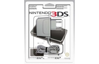 Nintendo Power Adapter for 3DS/DSi/DSi XL Interno Grigio caricabatterie per cellulari e PDA