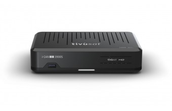 i-CAN 3900S Cavo Full HD Nero set-top box TV