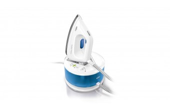 Braun CareStyle 2 Compact IS 2043 2200 W 1,3 L Eloxal Blu, Bianco