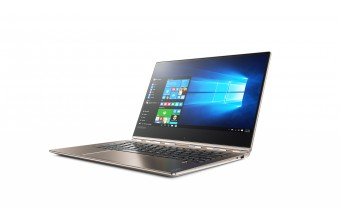 "Lenovo Yoga 910-13IKB 2.50GHz i5-7200U 13.9"" 1920 x 1080Pixel Touch screen Champagne, Oro Ibrido (2 in 1)"