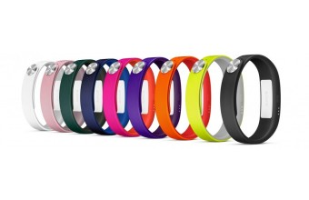 Sony SmartBand SWR110 (Large) 3Pk (Purple, Yellow, Pink) Rosa, Porpora, Giallo