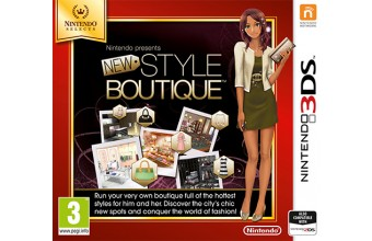Nintendo New Style Boutique, 3DS Basic Nintendo 3DS videogioco