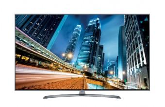 """LG 49UJ750V 49"""" 4K Ultra HD Smart TV Wi-Fi Nero LED TV"""