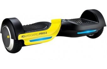 Twodots Glyboard Pro 2 10km/h 4400mAh Nero, Giallo hoverboard