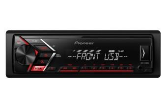 Pioneer MVH-S100UB 200W Nero, Rosso autoradio