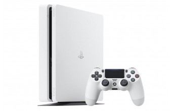 Sony PlayStation 4 500GB E Chassis Clacier White PS4 Console