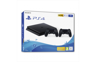 Sony PS4 1TB E Chassis Black + DS4V2 Console