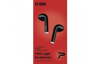 SBS auricolari Bluetooth Twin Earset nero