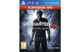 Sony Uncharted 4 (Playstation Hits Edition) PS4 PlayStation 4 ITA videogioco