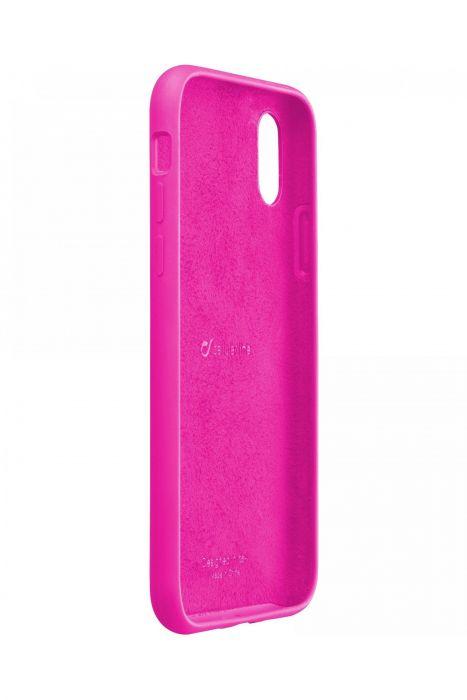 Cellularline Sensation Iphone Xr Custodia In Silicone Soft Touch Fucsia In Offerta Su Goprice